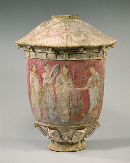 Sicillian Funery Vase,-2nd-3rd-century-BC