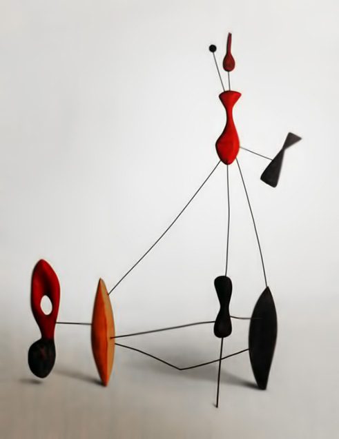 Constellation with Two Pins--1943-calder-fooundation