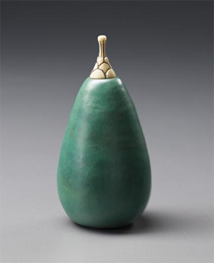 Henri Simmen and Eugene O'Kin Pear shaped bottle - 1920