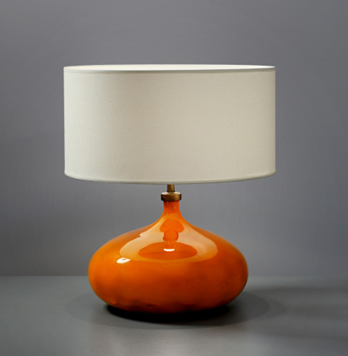 Jaques and Dani Ruelland lamp base1960