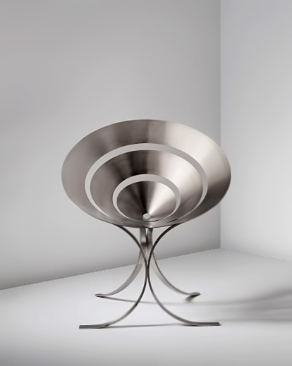 Maria Pergay - Ring chair 1968