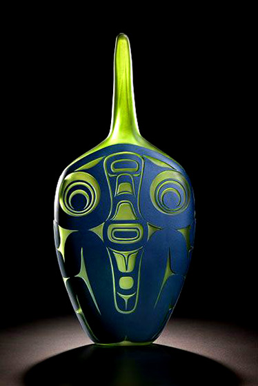 Preston-Singletary-Frog-tongue-2013 - glass sculpture