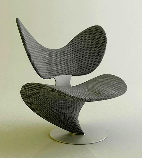 Roberto Pennetta mid-century chair