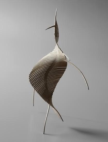 Serge Mouille --Monotype sculpture 1955