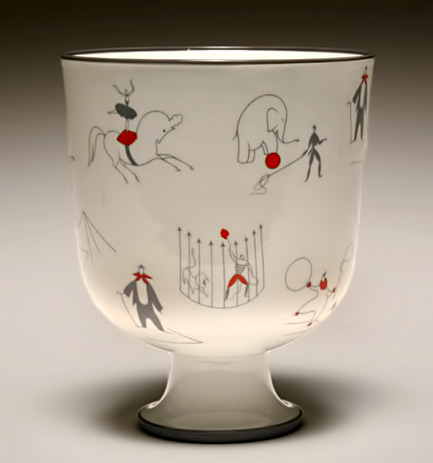 Gio Ponti Italian vase