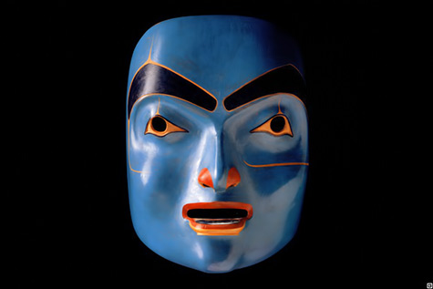 Woman with Labret- Robert Davidson mask