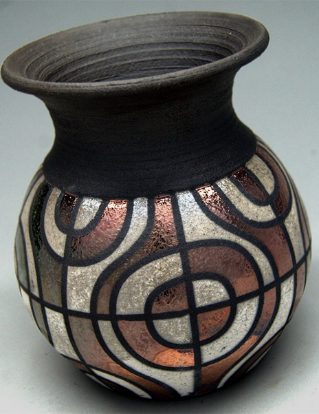 Current-Work---Ryan Peters Raku Pottery