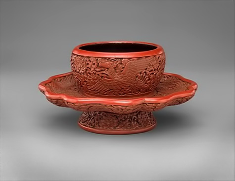 Tea Bowl With Stand- China Ming Dynasty The Metropolitan Museum of Art