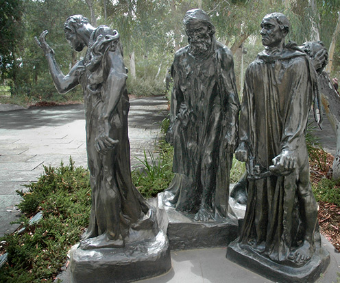 Three of the six figures from Rodin-s- Burghers of Calais----Flickr---Photo-Sharing-Beyond07