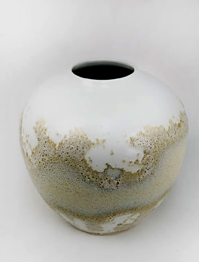 Chinese artist  Xiao Wei contemporrary vase