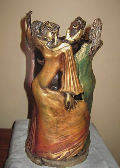 PRAISE VASE- Nancy Ellen Churchville