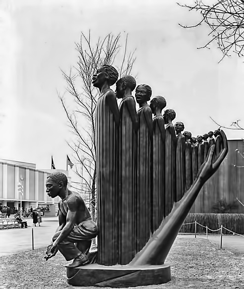 The-Harp,-1939--Augusta-Savage The Harp sculpture for the 1939 New York World Fair