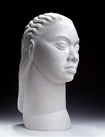 William-E Artis 1946 sculpture bust
