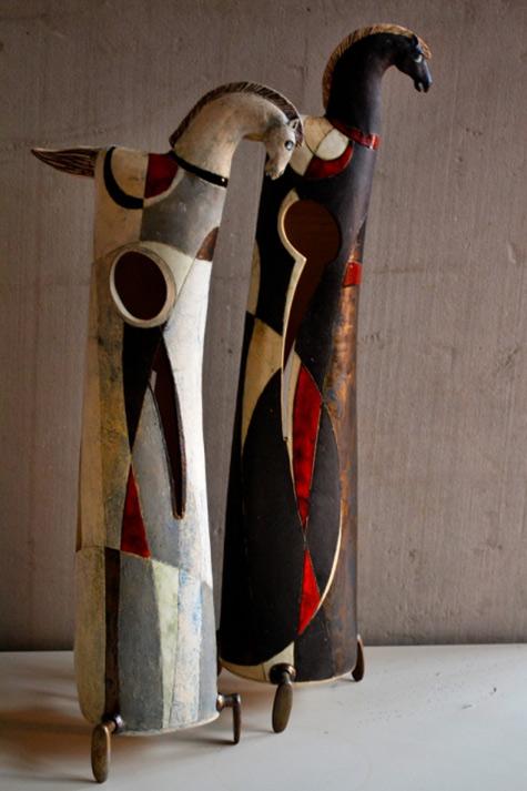 neron-hadrijan-Ivan A.Panov ceramic horse sculpture