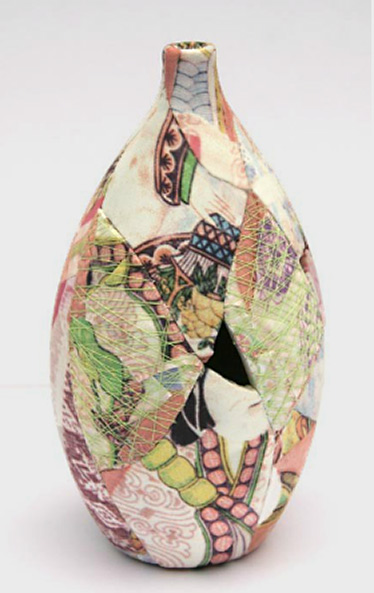 Ceramic-Patchwork---digital-print fabric Zoe Hillyard