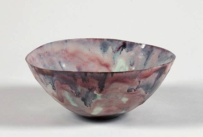 Fausto Melotti-Copetta-1950 ceramic bowl