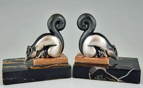 French-Art_Deco_squirrel_bookends