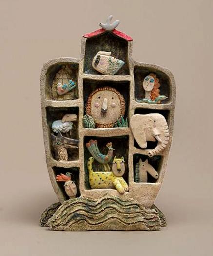 Michael-Fabbritore Arca ceramic sculpture