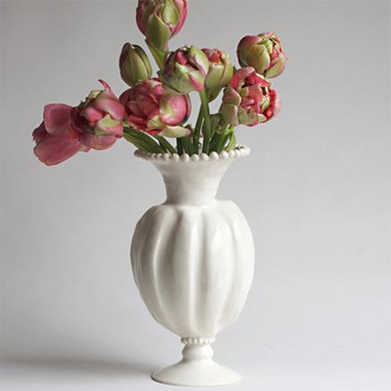 Squash Vase---FrancesPalmer Pottery