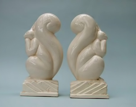 Vintage Squirrel-Bookends-by-Nagel