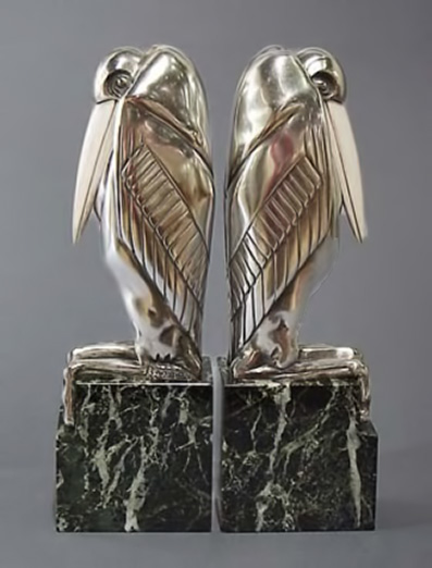 These-Malibu-Stork-bookends-were-formed-in-Art-Deco-style-by-French-sculptor-Marcel-Bouraine