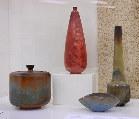 AMOCA, Gertrude and Otto Natzler ceramics
