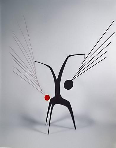 Alexander-Calder---Un-Effet-Du-Japonais---Pace-Gallery