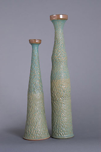 Candlesticks-by-'Muddy-Creek-Pottery'