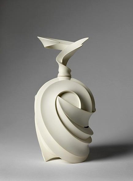 Japan art ceramic by Ikura,-Takashi
