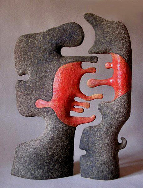 Ivana Batalo abstract sculpture
