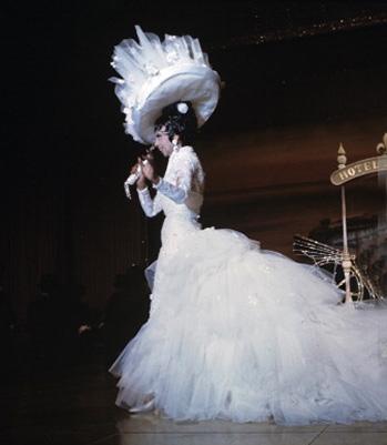 JOSEPHINE BAKER in her show -'JOSEPHINE-BAKER-STORY'-IN-MONTE-CARLO-GAROFALO-Jack