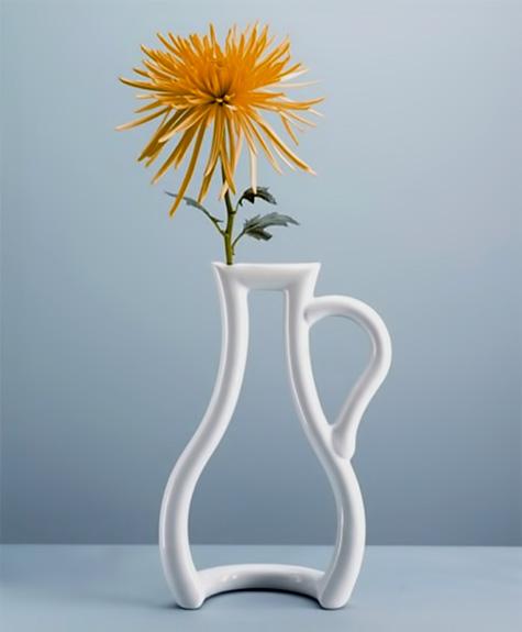 Outline-Vase Silhouette Vase - Yuko Tokuda