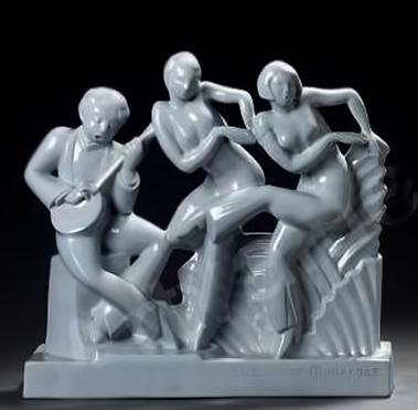 catteau-charles-1880-1966-belg-la-danse-moderne-a-boch-freres-