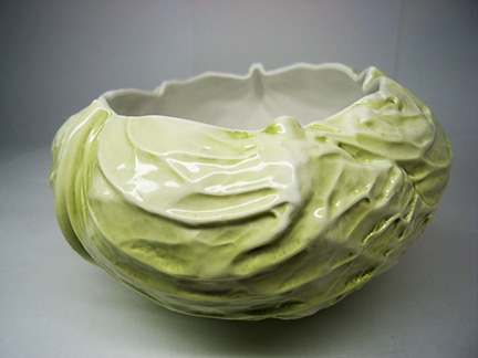 Porcelain Cabbage bowl from Anon Pairot design studio