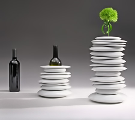 'Hula Hoops' vase - Giopato & Coombes