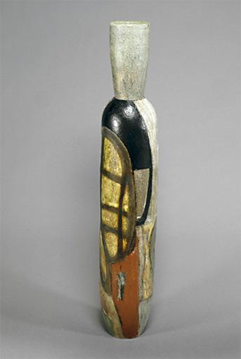 Gretchen-Wachs---CERAMICS Sculptural vessel