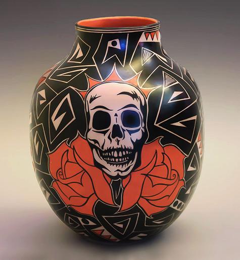Lisa Holt- Harlan Reano--Cochiti--Santo-Domingo--Kewa-Pottery-Pottery-----ollas