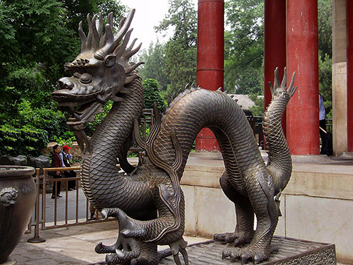 Outdoor Dragon Statue Dragon Statue – Hall of