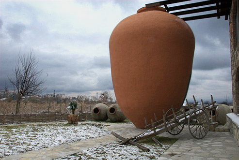 Large qvevri wine pot. Georgia
