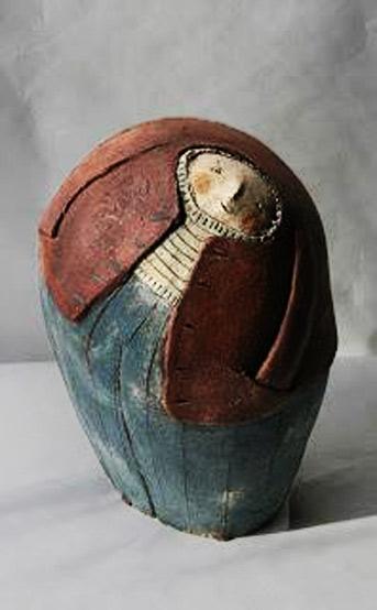 anne-sophie Gillioen ceramic figurine
