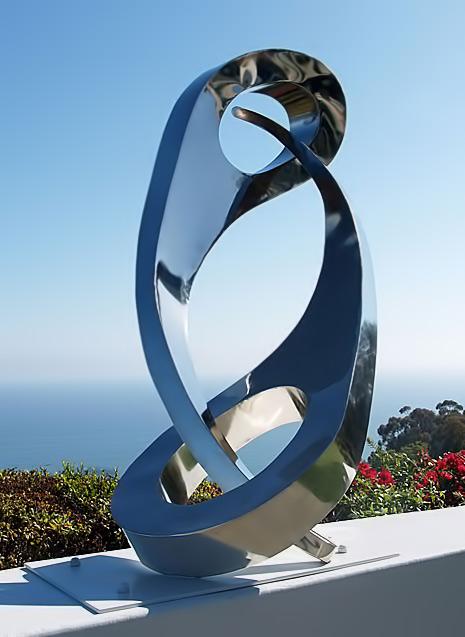 Chessmar-Sculpture--Brian Anders Chessmar--Santa-Barbara-CA YinYang