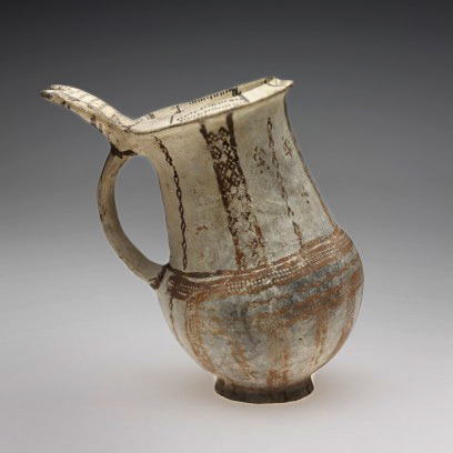 Cypriote,-Tankard,-1400-1350-BCE,-terracota