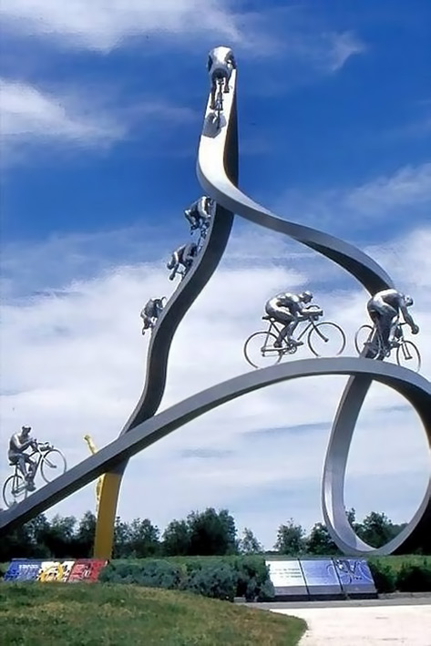Italian Bicycle Monument