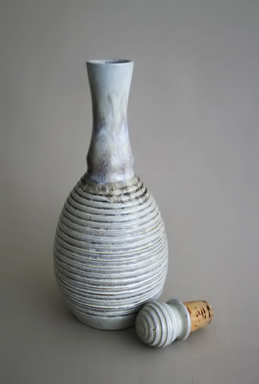 Vintage Scandinavian Ceramic Decanter