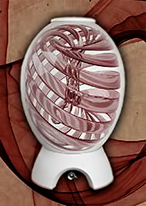 Magnum wine vessel internal circulation