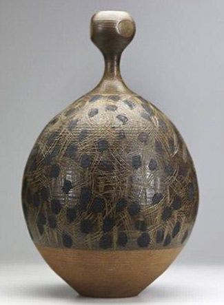 American master potter and ceramic artist-Val Cushing-(1931)