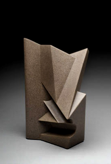 Anne Currier abstract ceramic sculpture