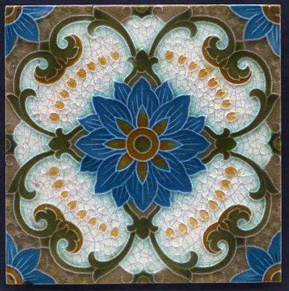 Antique-art-nouveau-Tube-Lined-Majolica-Ceramic