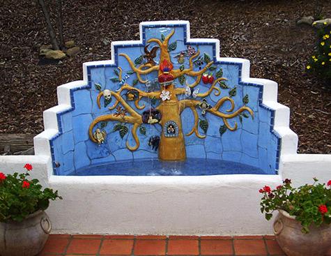 Ellen-Rundle Tree Of Life fountain
