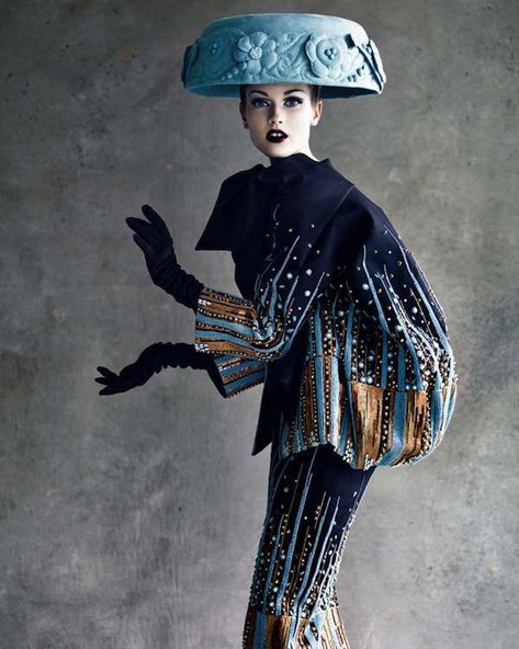Christian Dior, Haute Couture 2008, photo by Patrick Demarchelier